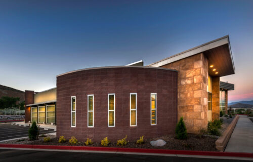 Exterior, Commercial Building, Carson City, Nevada – John Anderson Construction, Inc.