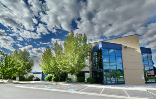 Exterior, Commercial Building, Reno, Nevada – John Anderson Construction, Inc.