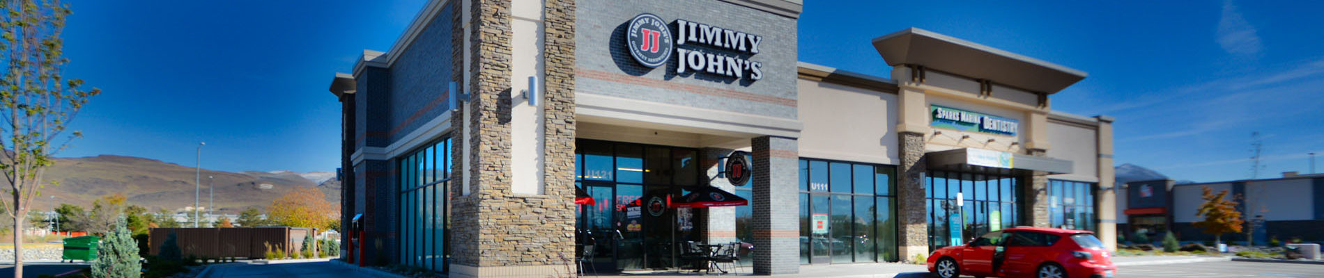 Exterior, Jimmy John's, Sparks, Nevada - John Anderson Construction, Inc.