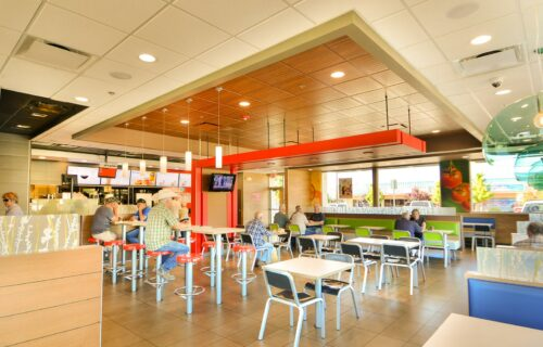 Interior, McDonald's, Carson City, Nevada – John Anderson Construction, Inc.